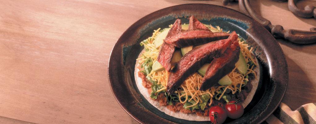 Recipe – Beef Tostadas
